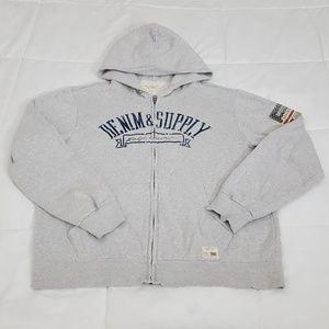 Ralph Lauren Sweatshirt Mens XL Denim & Supply